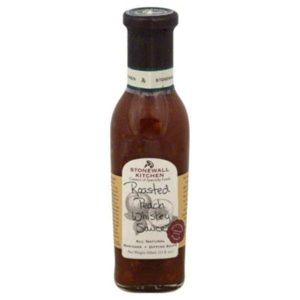 Stonewall Kitchen Roasted Peach Whiskey Sauce
