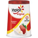 Yoplait Original Strawberry Banana Yogurt