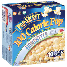 Pop Secret 100 Calorie Pop Homestyle Premium Popcorn/10 ct