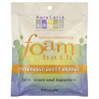 Aura Cacia Patchouli/Sweet Orange Foam Bath