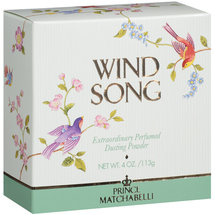 Prince Matchabelli Wind Song Perfumed Dusting Powder