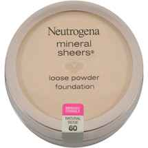 Neutrogena Mineral Sheers Loose Powder Foundation 60 Natural Beige