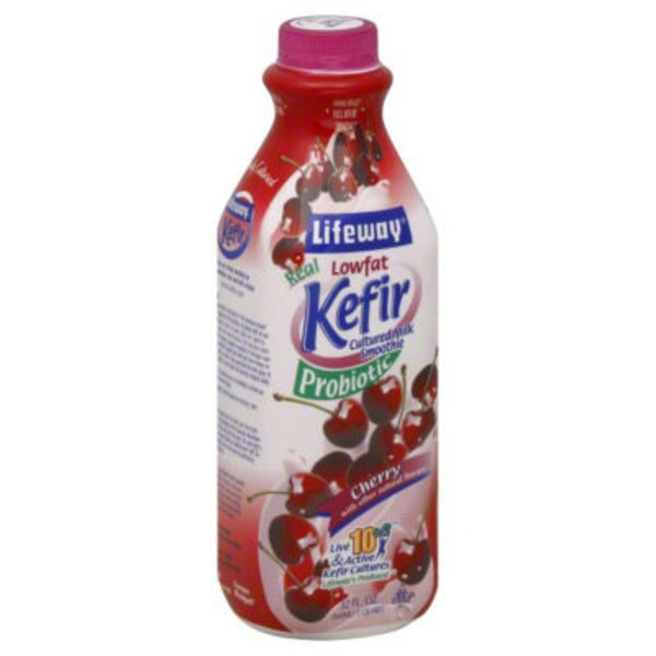 Lifeway Cherry Cultured Lowfat Milk Kefir Smoothie