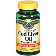 Spring Valley Cod Liver Oil Supplement