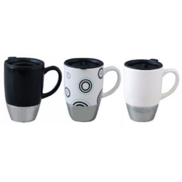 Mr. Coffee Couplet Travel Mug With Lid 15 Oz