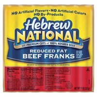 Hebrew National Beef Reduced Fat Franks