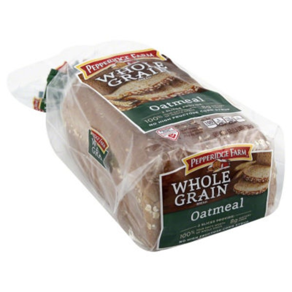 Pepperidge Farm Fresh Bakery Whole Grain Oatmeal Bread