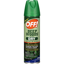 Off Deep Woods Dry Spray