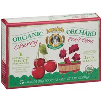 Annie's Homegrown Organic Cherry 5-0.63 oz Pouches Organic Orchard Fruit Bites