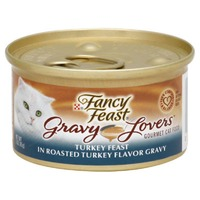 Fancy Feast Gravy Lovers Turkey Feast in Roasted Turkey Flavor Gravy Cat Food