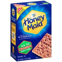 Nabisco Honey Maid Low Fat Cinnamon Graham Crackers