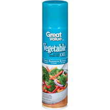 Great Value Vegetable Cooking Spray