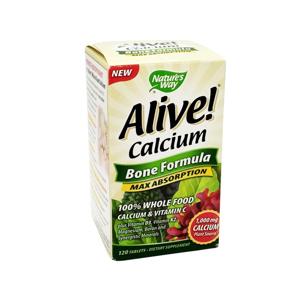Nature's Way Alive! Calcium Bone Formula Max Absorption