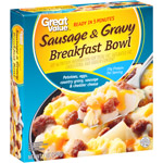 Great Value Sausage & Gravy Breakfast Bowl