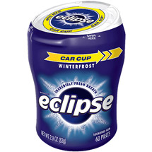 Eclipse Sugar Free Winterfrost Big E Pak Chewing Gum