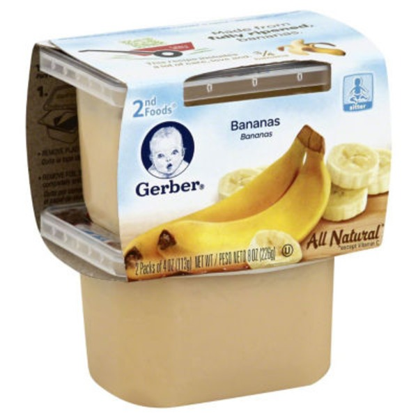 Gerber 2 Nd Foods Bananas Baby Food