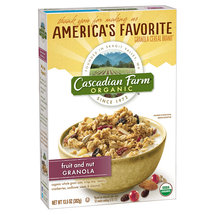 Cascadian Farm Organic Fruit And Nut Granola Cereal