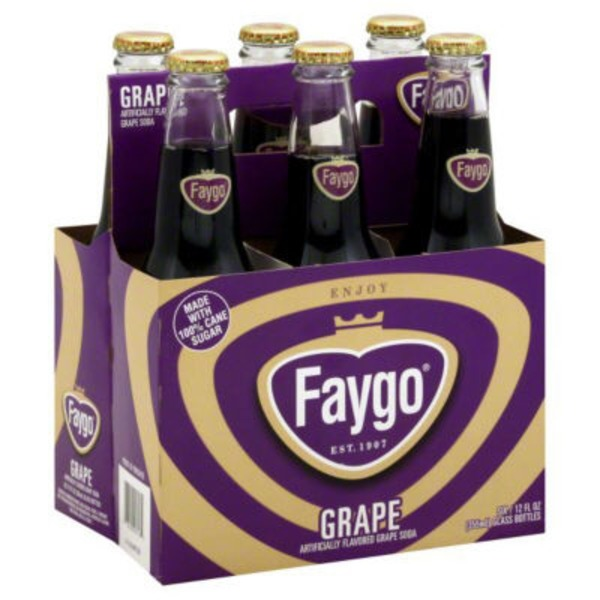 Faygo Original Grape Soda