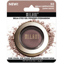 Milani Bella Eyes Gel Powder Eyeshadow 03 Bella Cappuccino Satin Matte