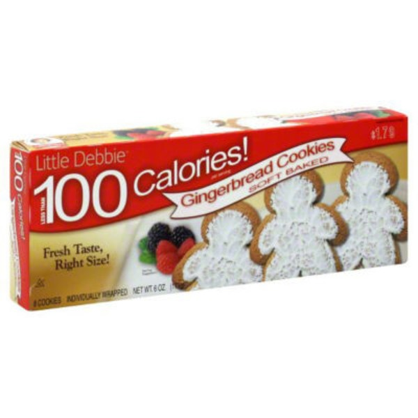 Little Debbie Christmas Gingerbread Cookies