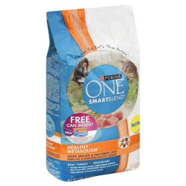 Purina One Cat Dry Adult Healthy Metabolism Cat Food