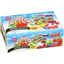 Apple & Eve 100% Juice Variety Pack 6.75 oz/ 32ct