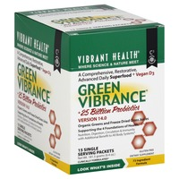 Vibrant Health Green Vibrance, +25 Billion Probiotics, Version 14.0