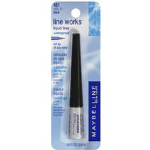 Maybelline Line Works Liquid Eyeliner Black 451