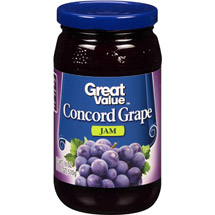 Great Value Concord Grape Jam