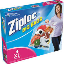 Ziploc Heavy Duty XL Big Bags