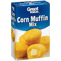 Great Value Corn Muffin Mix