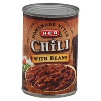 H-E-B Homemade Style Chili With Beans