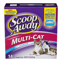 Scoop Away Multi-Cat Litter