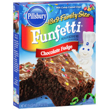 Pillsbury Funfetti Chocolate Fudge Premium Brownie Mix
