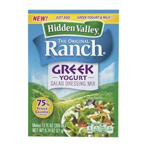 Hidden Valley The Original Ranch Greek Yogurt Salad Dressing Mix