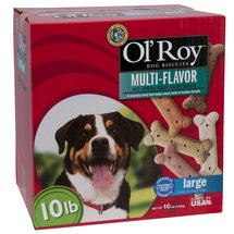 Ol' Roy Multi-Flavored Dog Biscuits for Large Dogs
