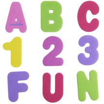 Munchkin Bath Letters and Numbers Pastel