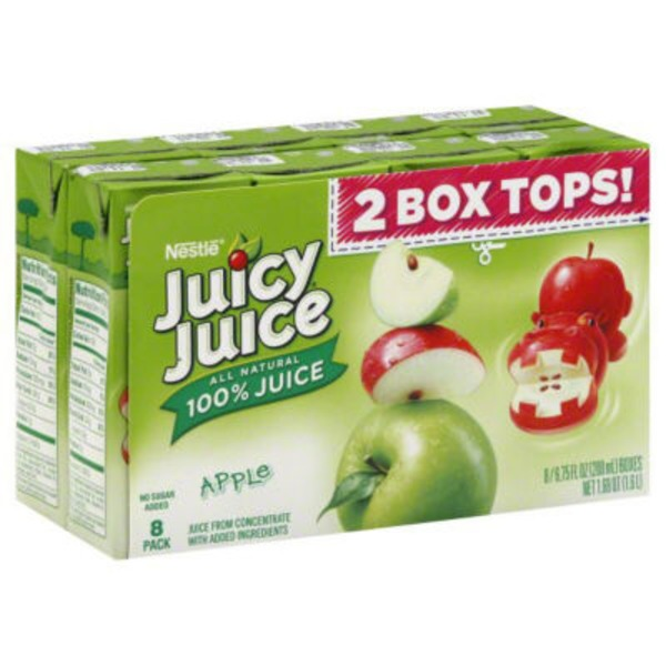 Juicy Juice 100% Apple Juice, No Sugar Added