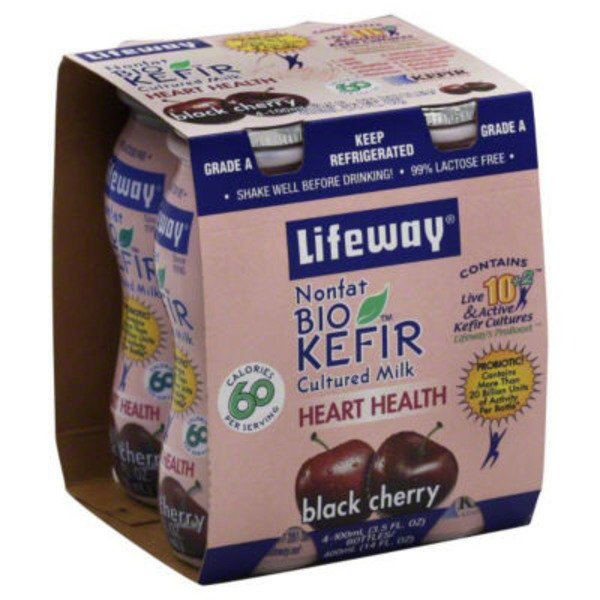 Lifeway Black Cherry BioKefir Probiotic Shot