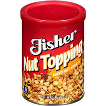 Fisher Mixed Variety Nut Topping