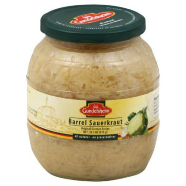 Kiihne German Barrel Sauerkraut