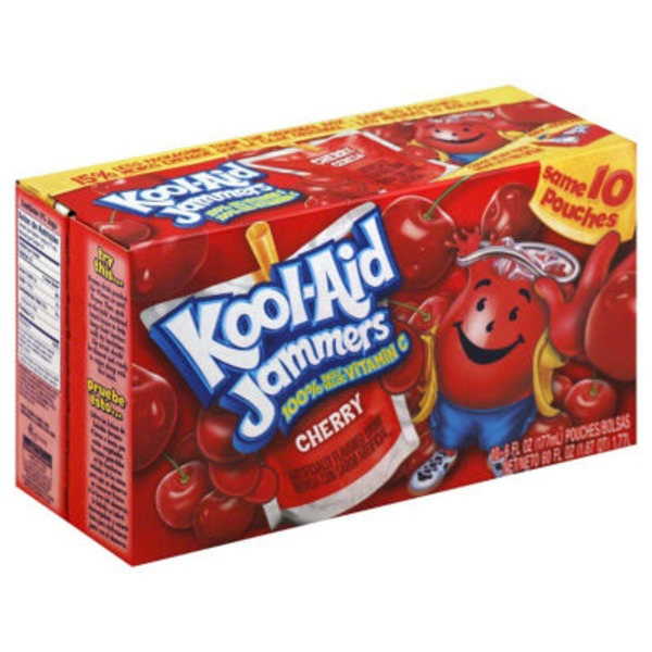Kool-Aid Jammers Cherry Juice Drink
