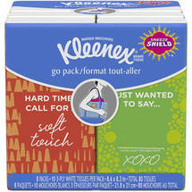 Kleenex Go Pack Everyday Tissues