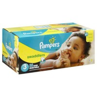 Pampers Swaddlers Super Pack Size 3 Diapers
