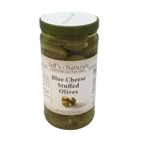 Jeff's Naturals Blue Cheese Stuffed Olives