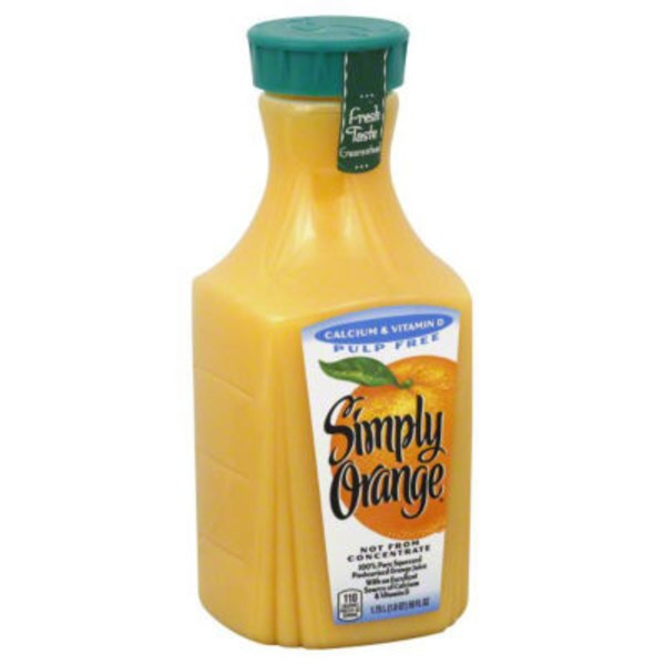 Simply Beverages Simply Orange Calcium & Vitamin D Juice