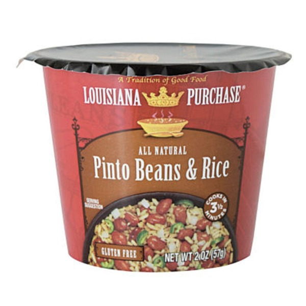 Louisiana Purchase Pinto Beans & Rice