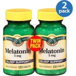 Spring Valley Melatonin Tablets