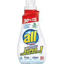 All Super Concentrate SmAll & Mighty Free Clear