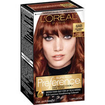 L'Oreal Paris Superior Preference Paris Lumiere Hair Color 6AB Chic Auburn Brown
